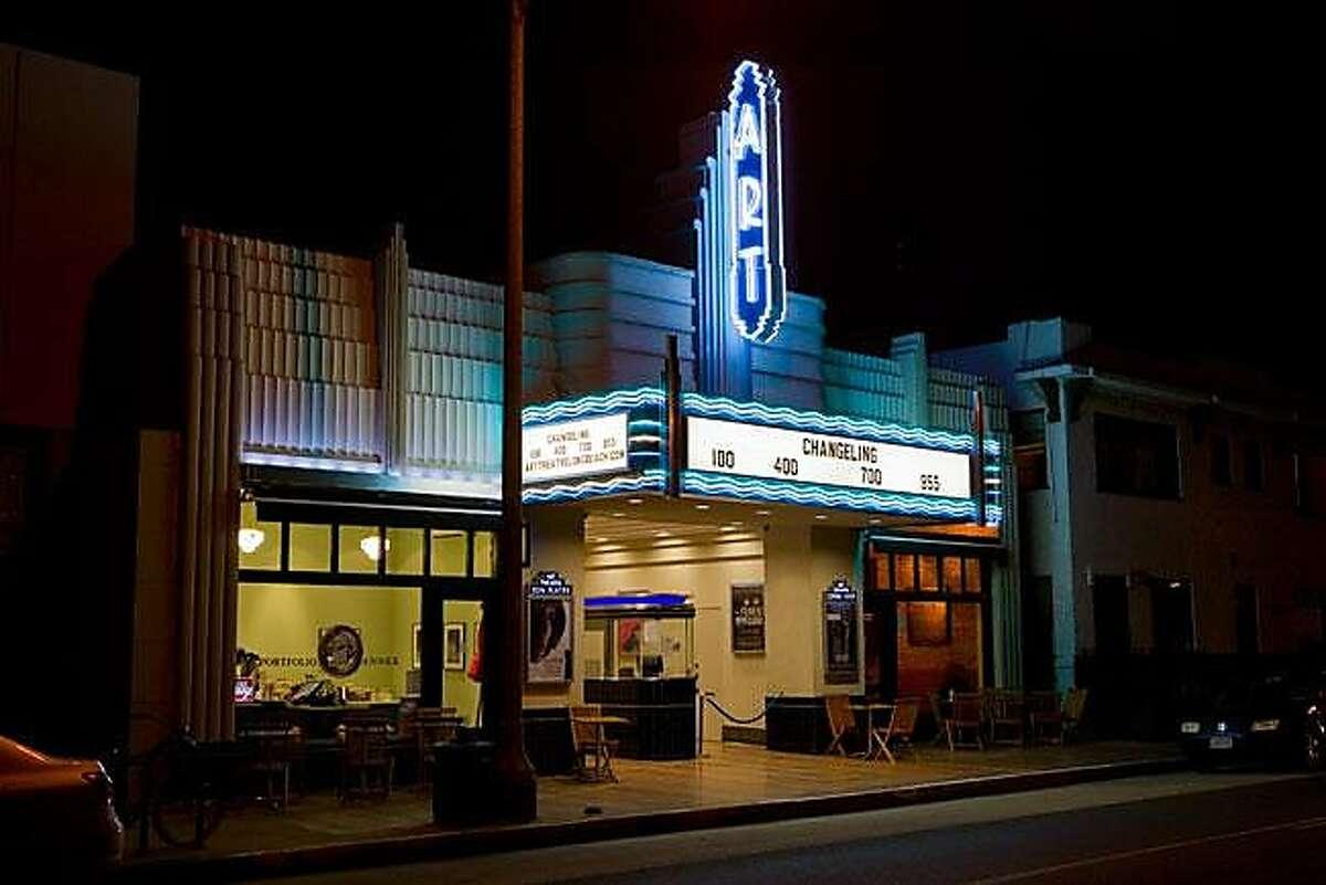 Art Theater on Retro Row in Long Beach.