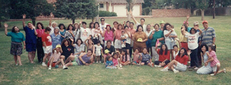The Mendoza clan began having reunions in 1991 and continue to have them once every two years in different locations. Photo: Courtesy Photo
