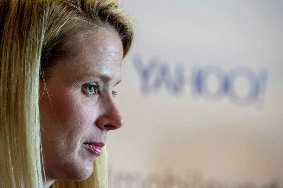 """Marissa Mayer: """"I used to be very gender blind. In the past year, it has become so undeniable that some of the criticisms have been so flush with gender-loaded viewpoints that it has been really disappointing."""" / © 2015 Bloomberg Finance LP"""