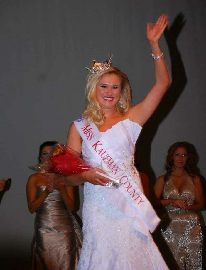 Plainview graduate, Emily Paige Falkenberg will compete in 2013 Miss Texas Pageant July 6 in Allen. Falkenberg was crowned Miss Kaufman County in October, earning her a spot in the Texas show. Photo: Courtesy Photo