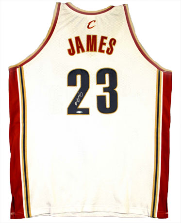 wholesale dealer ffd07 b8b4a LeBron James jersey stolen in burglary - Plainview Daily Herald