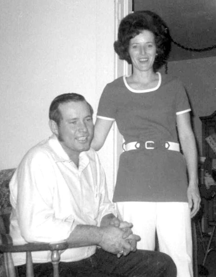 Mr. and Mrs. Carl Beville 1962