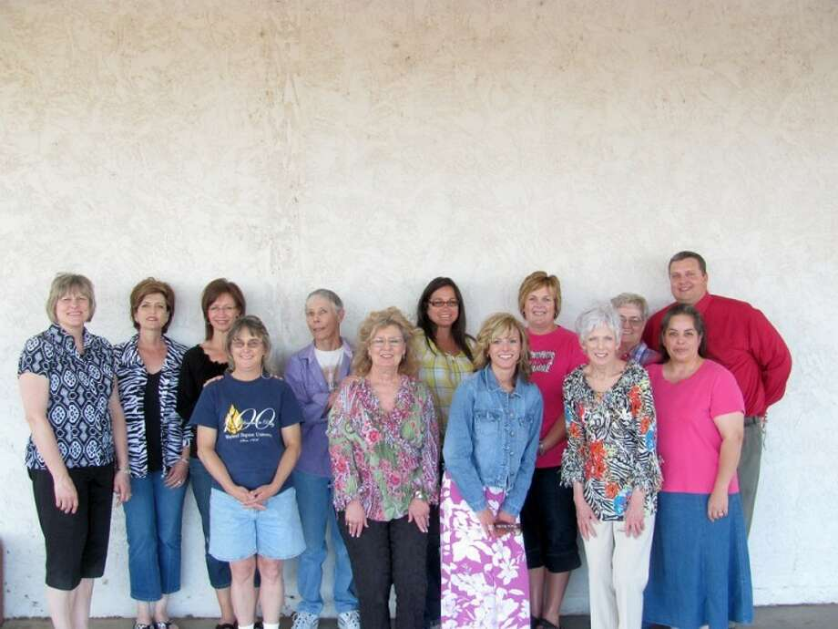 Graduates of the first West Texas Annie'sProject are Priscilla Hooper of Halfway (left, front); BobbyeDennis, Olton; Christy Bingham, Lubbock; Linda Huffaker, Lubbock;Erin Rios, Dimmitt; Deana Sageser, Plainview (left, back);Stephanie Hales, Canyon; Cindy Olson, Plainview; Jo Eddy Riley,Springlake/Earth; Ashley Bartley, Sudan; Sue Weaver, Post; ShelleyLyon, Morton; and Jason Johnson, Stephenville. Not pictured is JeanSilverthorne, Plainview.