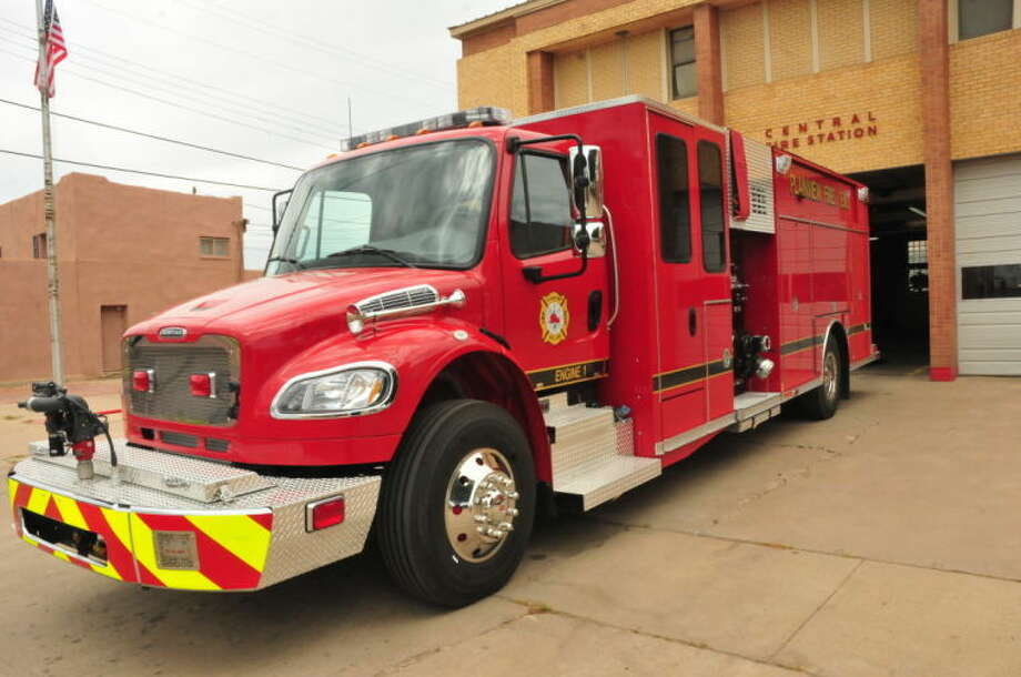 The Plainview Fire Department will soon commission its new pumper fire truck which will feature a 750-gallon water tank. Photo: Homer Marquez/Plainview Herald