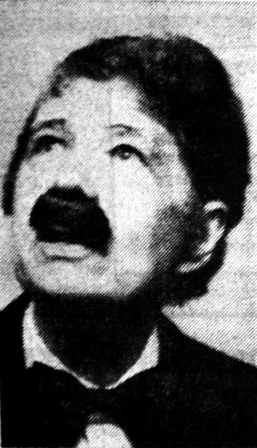 Herald File PhotoCora Hortense Ball in 1972 as Edgar Allan Poe.