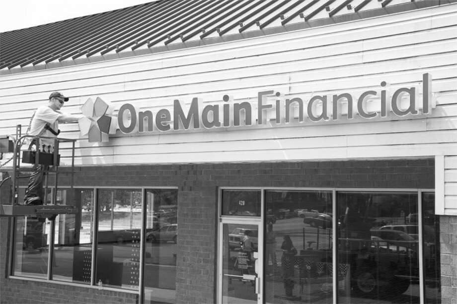 Although the change won't be effective until Friday, the sign outside CitiFinancial, 3423 B Olton Rd., already has been changed to OneMain Financial to reflect the rebranding of the local office.
