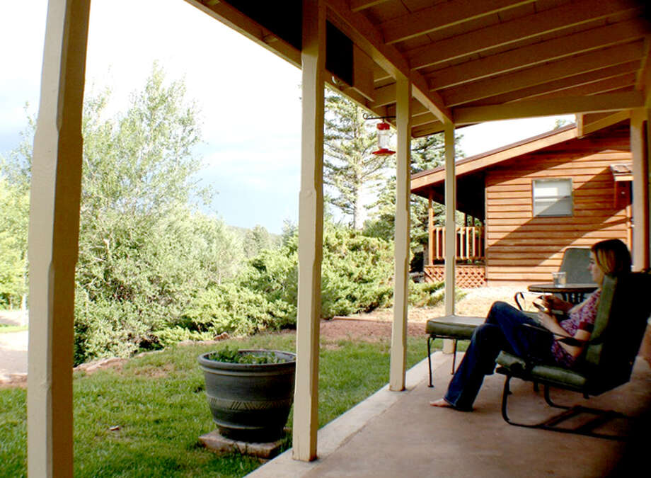 Courtesy photo/newleafeats.comA view from Wayland Baptist University's cabin at Glorieta Conference Center in New Mexico