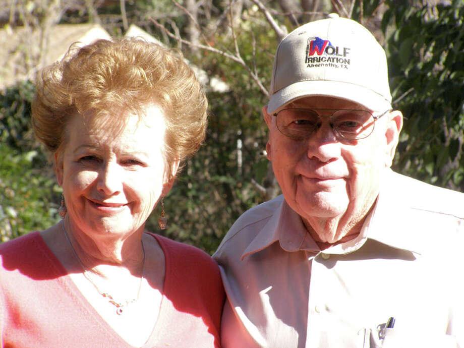 Mr. and Mrs. Elmer Koenning Photo: Picasa
