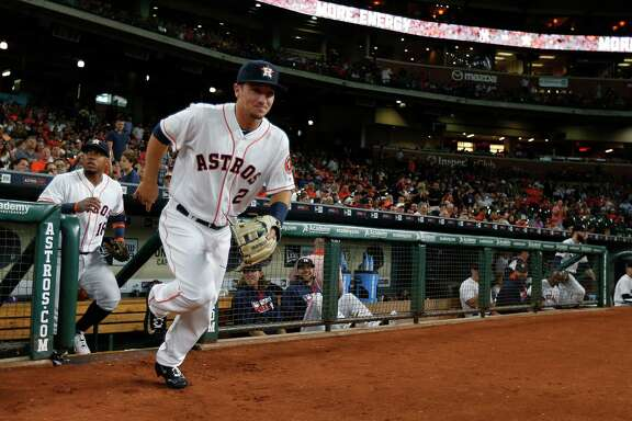 With the hint of a grin, Alex Bregman takes the field Monday night at Minute Maid Park for his major league debut against the New York Yankees.