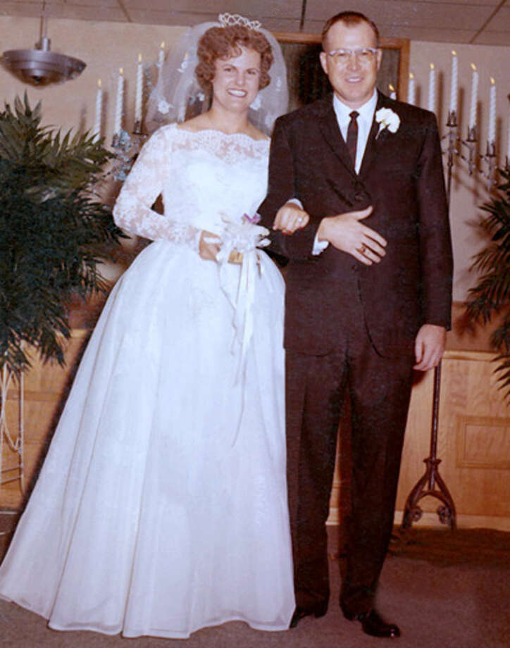 Hylton and Sandra Brown on their wedding day in September 1963 Photo: Courtesy Photo