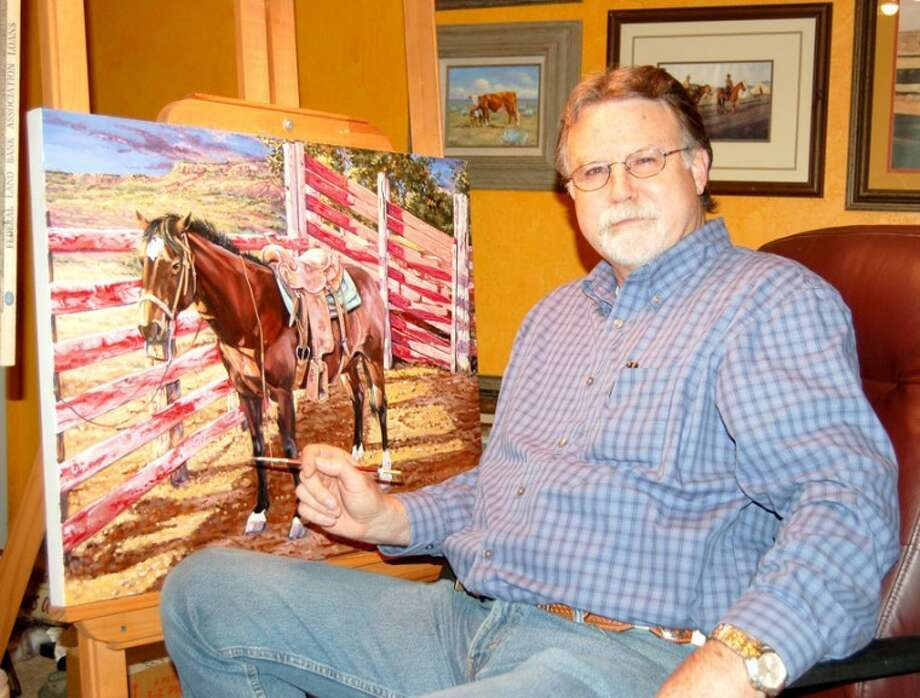 Back In The Saddle Artist Returns To His Studio After 25 Years