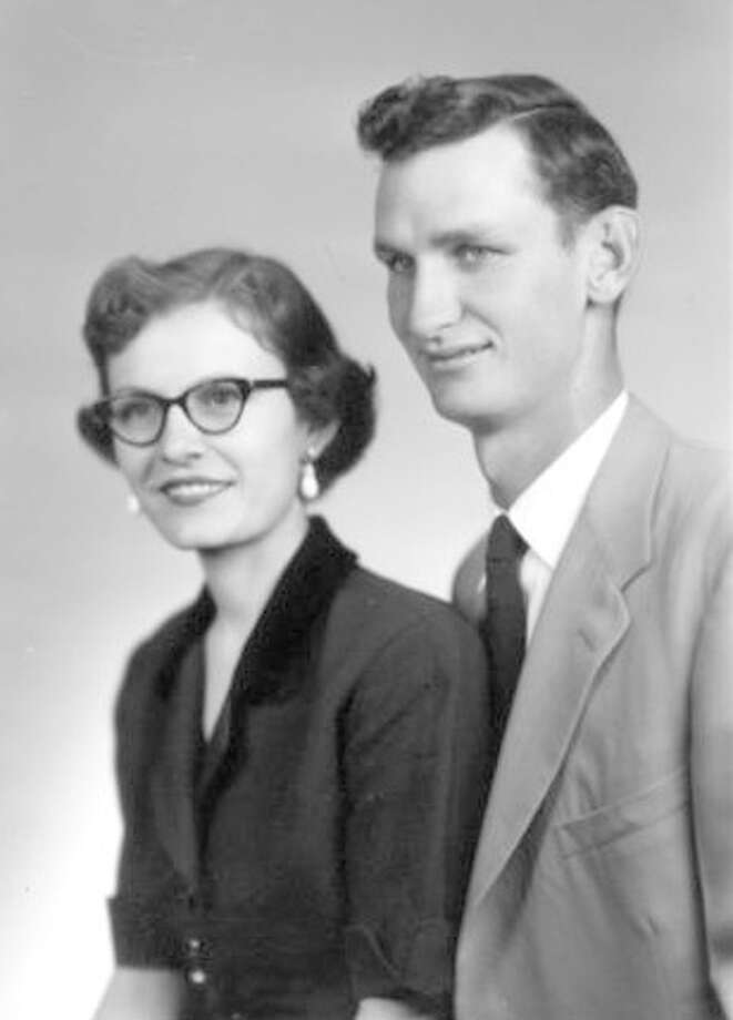 Clara and Fred Robertson 1952