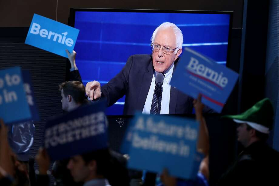 Democratic Convention speakers try to tame Sanders supporters