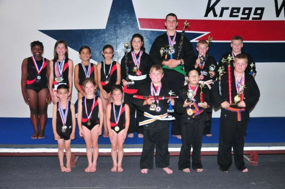 The GTA-PSDA competition teams: (bottom row from left) Colton Moses, Caroline Myrick, Clementine Myrick, James Walker, Miguel Hinojosa, Tanner Bannett; (top row from left) Sharieya Jennings, Hannah Rodriguez, Jennifer Gonzales, Alyssa Gonzales, Hilda Corales, Levi Brown, Riley Bennett, Andrew Bennett. Not pictured: Kylee Harmon, Madi Beasley, Zach McCarty, Luis Miguel Franco, Hunter Corales, Kole Campbell, Josh Long, Wellington Moore, Paisleigh Wilkins, Roxanne Chavarria, Sulay Munoz, Roni Weiss, Daniela Guzman. Photo: Homer Marquez/Plainview Herald