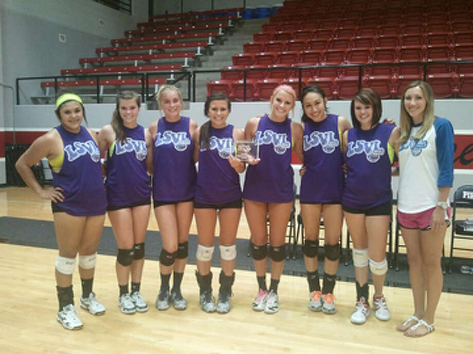 Plainview's summer volleyball team is made up of Jackie Perez, Brooke Walker, Shannon Watson, Kymber Carroll, Shaina Dulakis, Lupita Quintainilla, Loren Johnson and Katrina Thompson. Not pictured: Michelle Portillo, Taivia Hearn, Meredith McDonough and Ashley Welch. Photo: Courtesy Photo