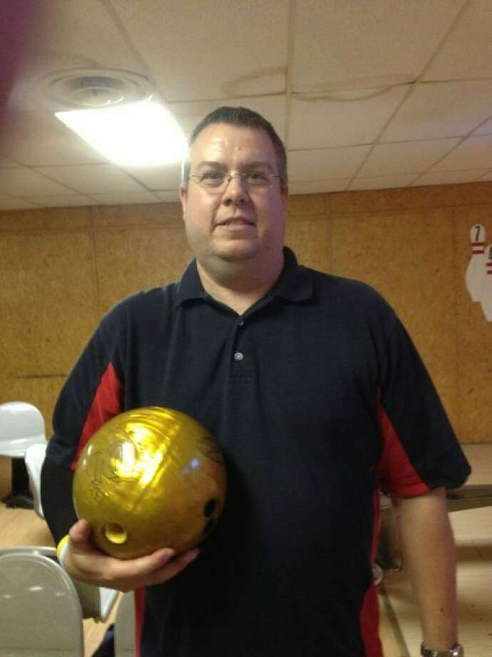 Jeff Wertz bowled his third perfect 300 game in the past six weeks at the Plainview Bowl Tuesday night. It was the fifth 300 game of his career. Photo: Photo Courtesy Of John Sigwald