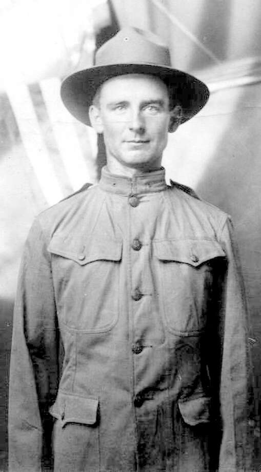 Theodore Schmucker, Nazareth's first military veteran, served during World War I. Photo: Courtesy Photo