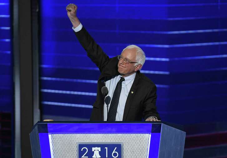 U.S. Sen. Bernie Sanders of Vermont was one of the main speakers at the Democratic National Convention in Philadelphia.