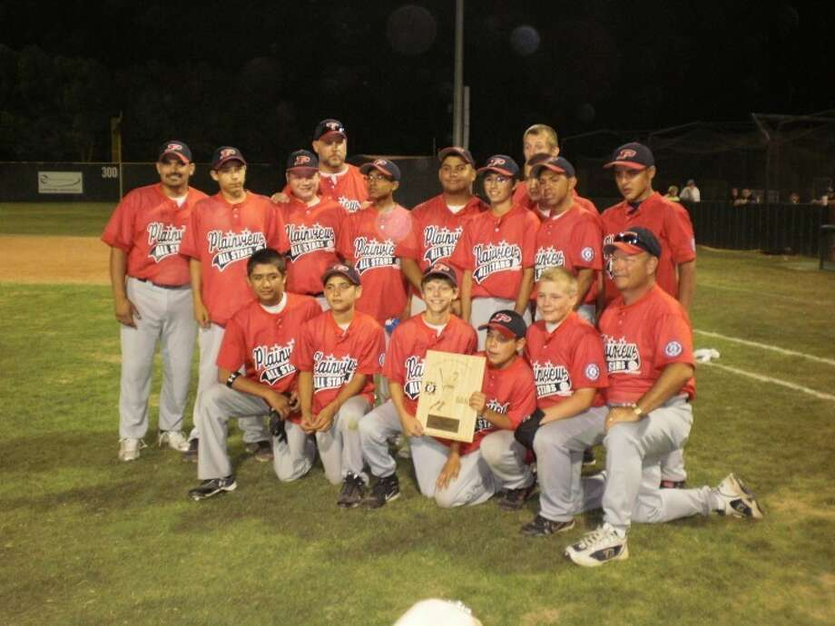 Plainview's 13-year-old all-star team proudly brought home runner-up honors at the this past week's 2012 West Texas State tournament in Levelland. Photo: Courtesy Photo
