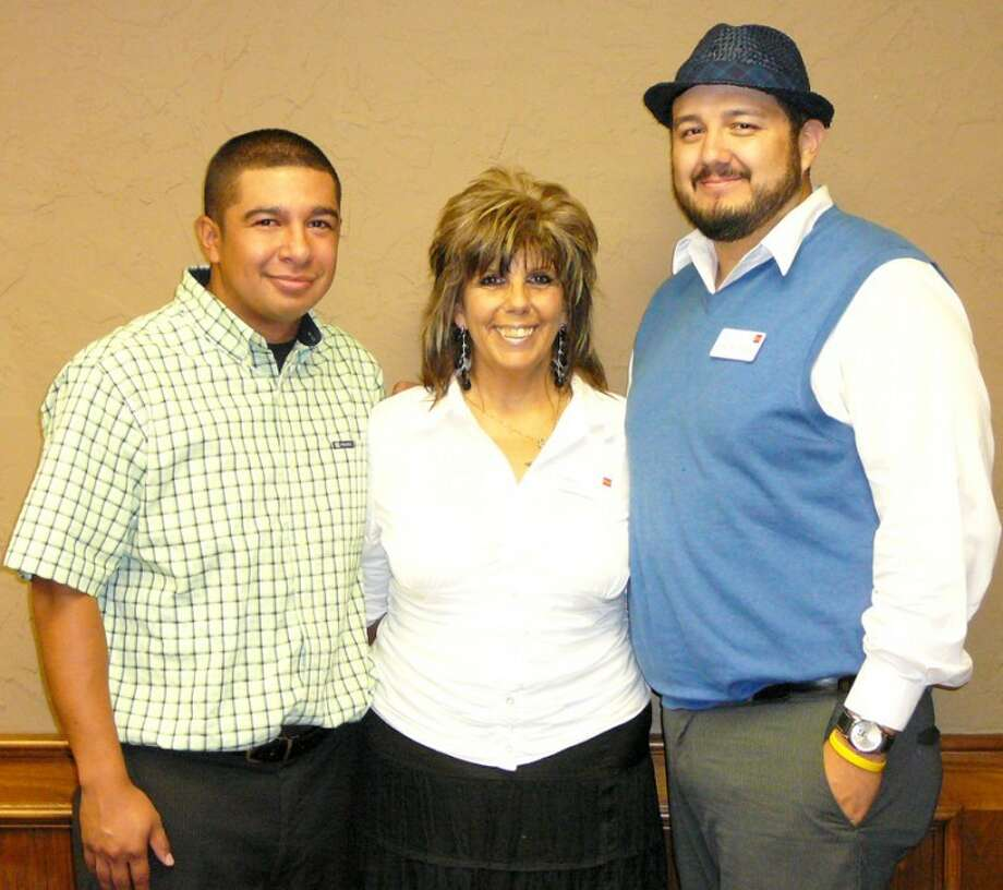 "Wells Fargo Plainview branch recently promoted several of its staff. Shown are Sonny Urrutia (left), service manager; Joann Shivers, customer service/sales representative; and Ismael ""Ish"" Villalobos, business specialist membership coordinator. Wells Fargo is at 205 W. Fifth. Phone 806-291-5566."