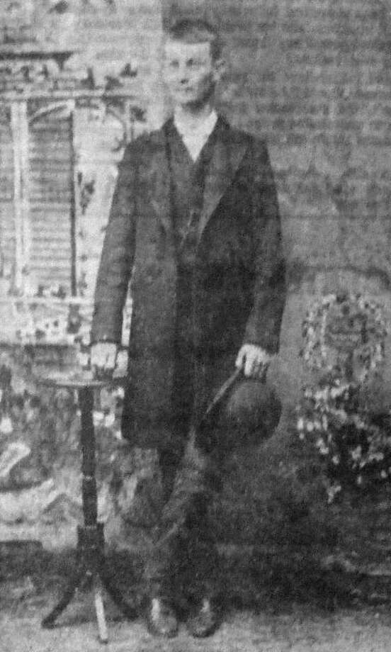 From The HeraldThis photograph, dated Jan. 16, 1889, shows a slender John G. Davidson months before he and D.B. Hill founded the Hale County Hesperian, forerunner of the Plainview Herald, in October 1889.