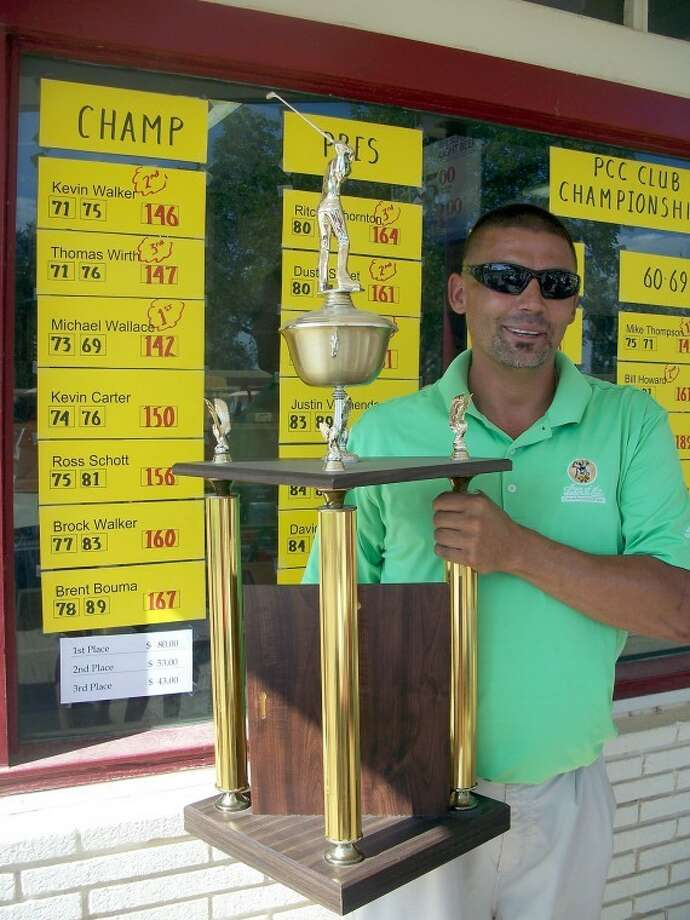 Kevin Lewis/Plainview HeraldMichael Wallace won the Plainview Country Club Championship by shooting 73-69-142.