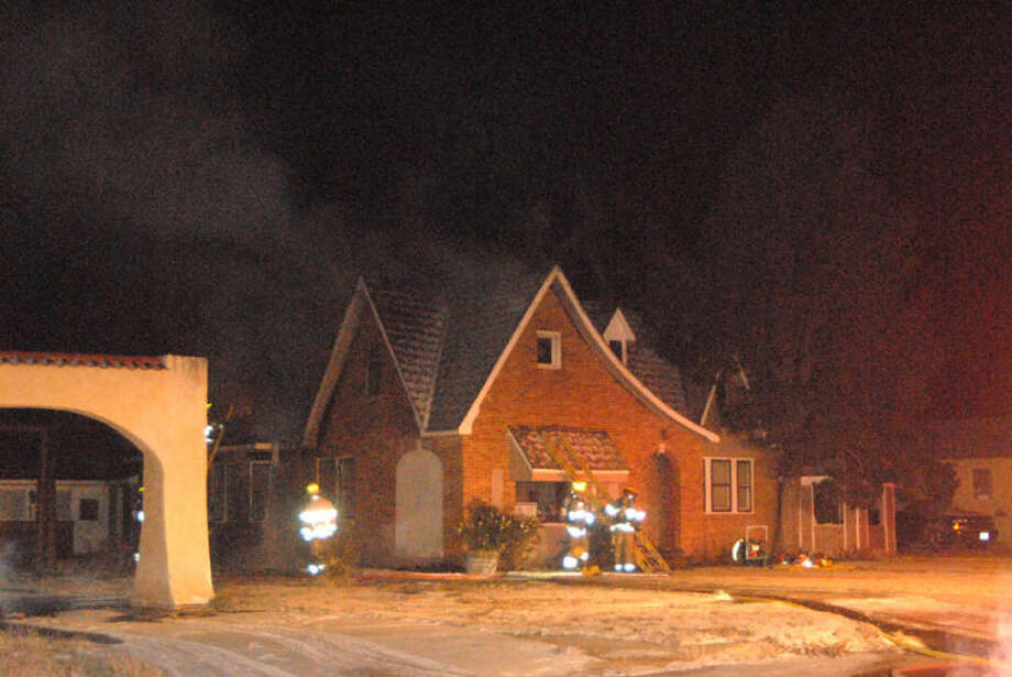 Plainview firefighters remained at the scene of a residential fire at 903 Milwaukee at 10 p.m. Thursday, hours after the house fire was reported earlier in the evening. Firefighters had to battle both the flames as well as frigid temperatures in the mid-teens.