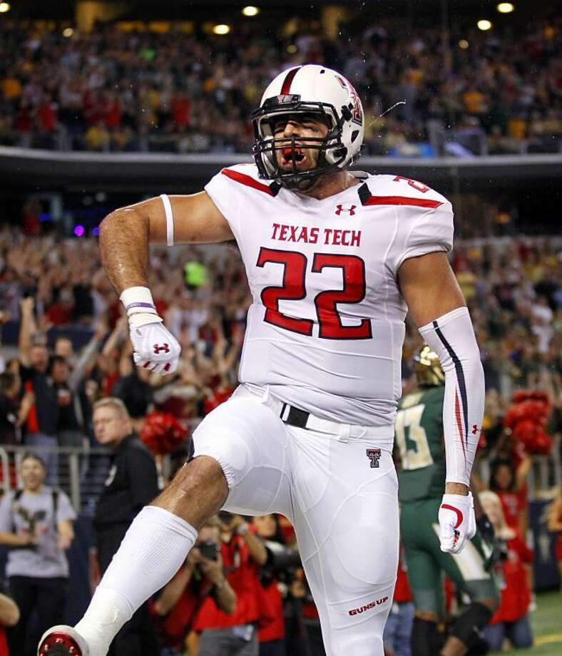 Texas Tech tight end Jace Amaro (22) was voted to the AP All-America first team. Photo: Tom Fox/Dallas Morning News/MCT