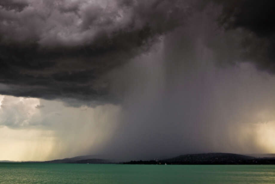 storm over the lake Balaton Photo: Robert Fesus / Hemera