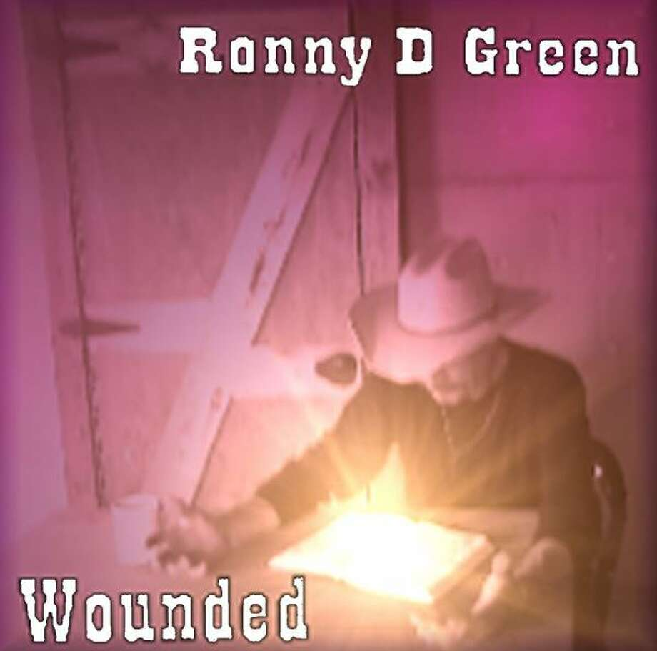 "Ronny Green wanted the design of his first album, ""Wounded,"" to give credit where he thought it should be given. Green thanks God for everything good in his life and believes that he is who he is because of God. Information on the album will be available on his website — www.myspace.com/woundedronnygreen — by this weekend. Photo: Courtesy Photo"