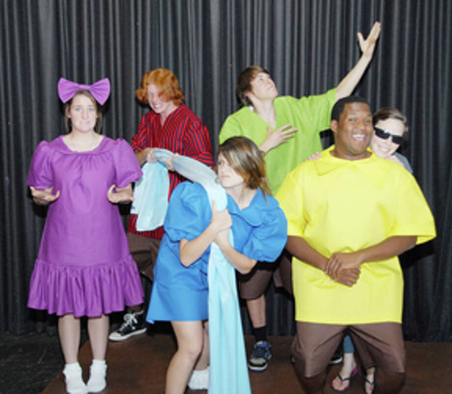 """Wayland Baptist University will present """"You're a Good Man, Charlie Brown"""" Thursday-Saturday, Oct. 18-20. Cast members are: (front from left) Haley Bonner as Patty, Rachel Smith as Lucy, Malcolm Stone as Charlie Brown, Lillie Cooper as Snoopy, Zachary Fisher (back) as Linus and Cameron Conner as Schroeder.WBU theatre brings Charlie Brown to life Photo: Courtesy Photo"""