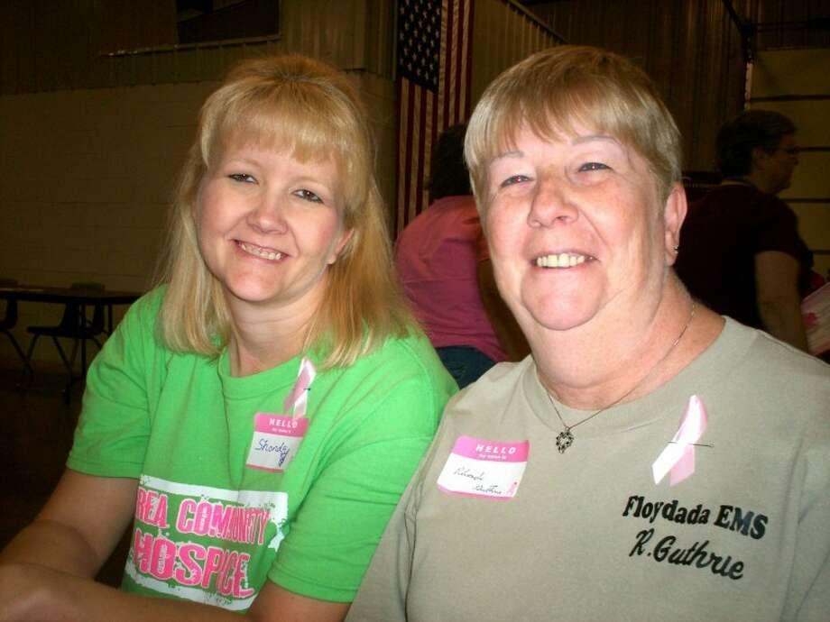 Rhonda and Shonda Gutherie
