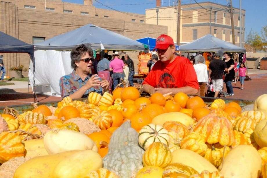 Floydada pumpkins
