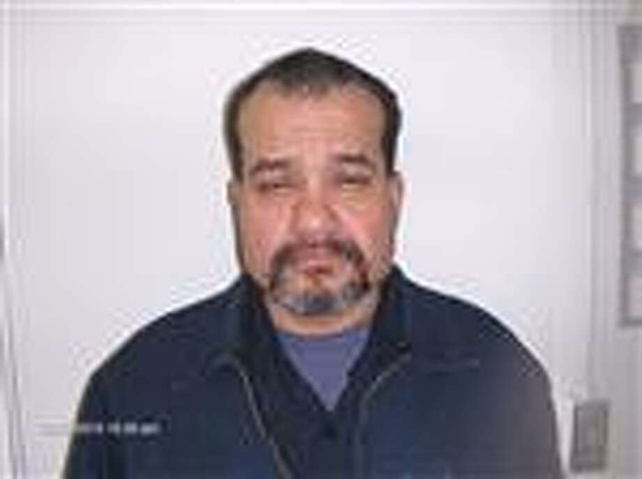Edward Delgado Hernandez, 50, of Lockney is seen in this Texas Department of Public Safety sex offender registry photo taken in 2010. A man by the same name, with the same date of birth, has been arrested in Floyd county for murder. Floyd County officials have not released any information on the murder or identified the victim.