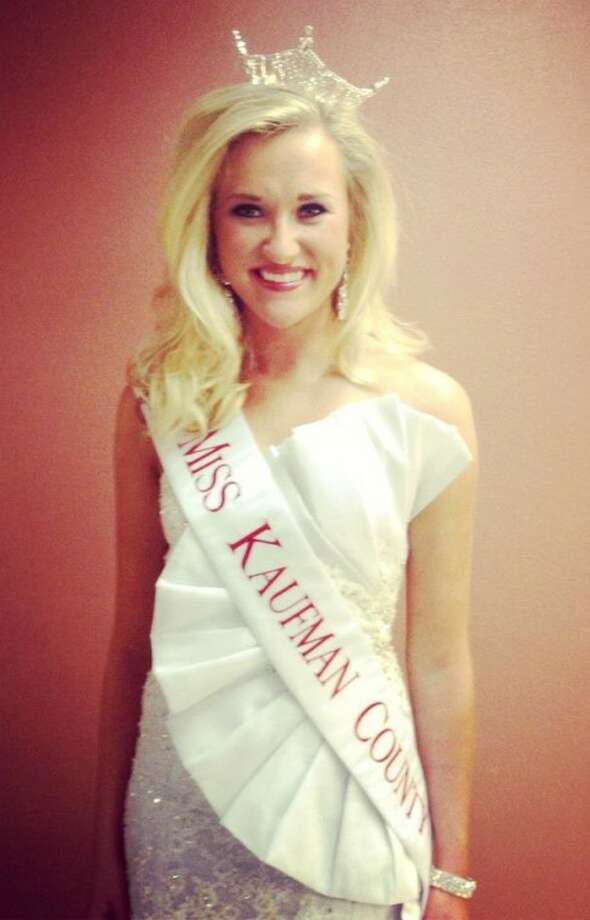 Emily Falkenberg is the new 2013 Miss Kaufman County after receiving the crown in a pageant Sunday in Plano. A Miss America preliminary event winner, she will compete for the Miss Texas title in July. Photo: Miss Kaufman County/Facebook