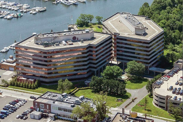The headquarters of Starwood Hotels & Resorts Worldwide in Stamford, Conn. (photo via PRNewswire)