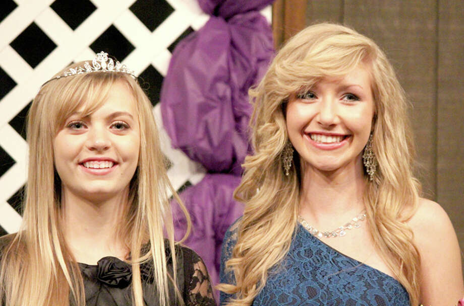 Hannah Smith (left) is the new Plainview Lions Club Queen. She is the daughter of Kyle and Shelly Smith Kendra Stukey is Lions Club Princess. She is the daughter of Lea and Kenneth Stukey. Both are juniors at Plainview Christian High School. Photo: Courtesy Photo