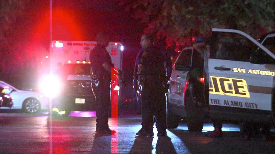 A man is in critical condition July 26, 2016, after reportedly being shot accidentally by a 15-year-old boy who was playing with a handgun at an apartment complex in the 3600 block of Callaghan Road. Photo: Courtesy/Ken Branca