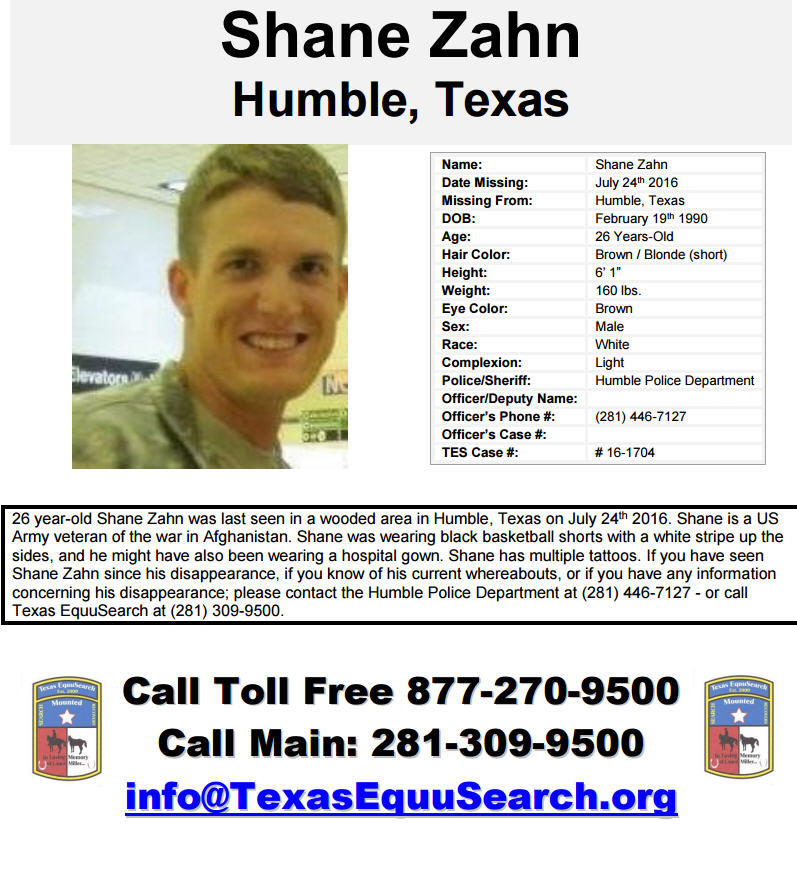 Police, volunteers search for missing Humble man - HoustonChronicle com