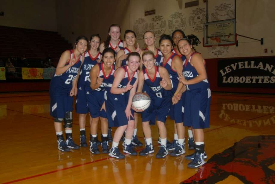 For the third straight year, the Lady Dogs earned the Levelland Tournament Championship with a sweep of this weekend's games. Photo: Doug McDonough/Plainview Herald