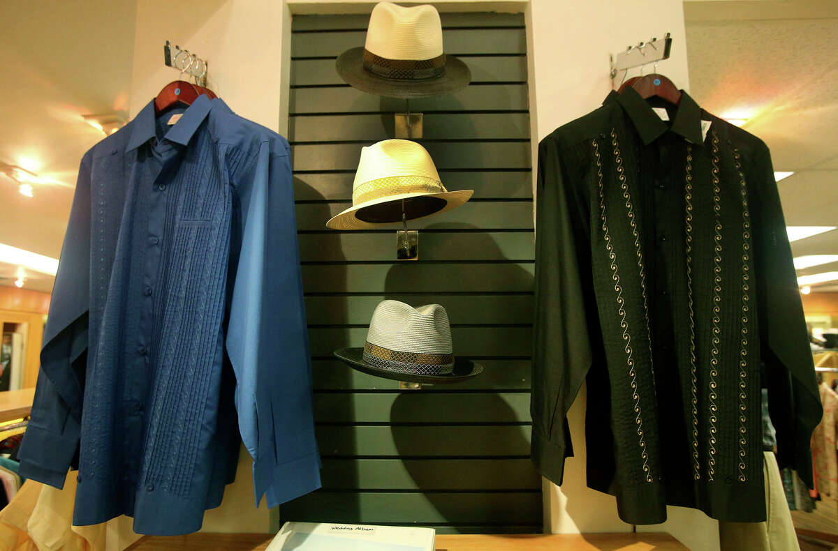 Penner's clothing store at 311 W. Commerce is widely known for its extensive inventory of quality guayabera shirts. The store is celebrating its 100th year in business.
