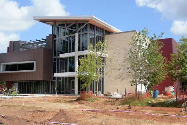 Construction is almost finished at the Rock Center for Math and Science building at the John Cooper School. It will be open for the upcoming school year.