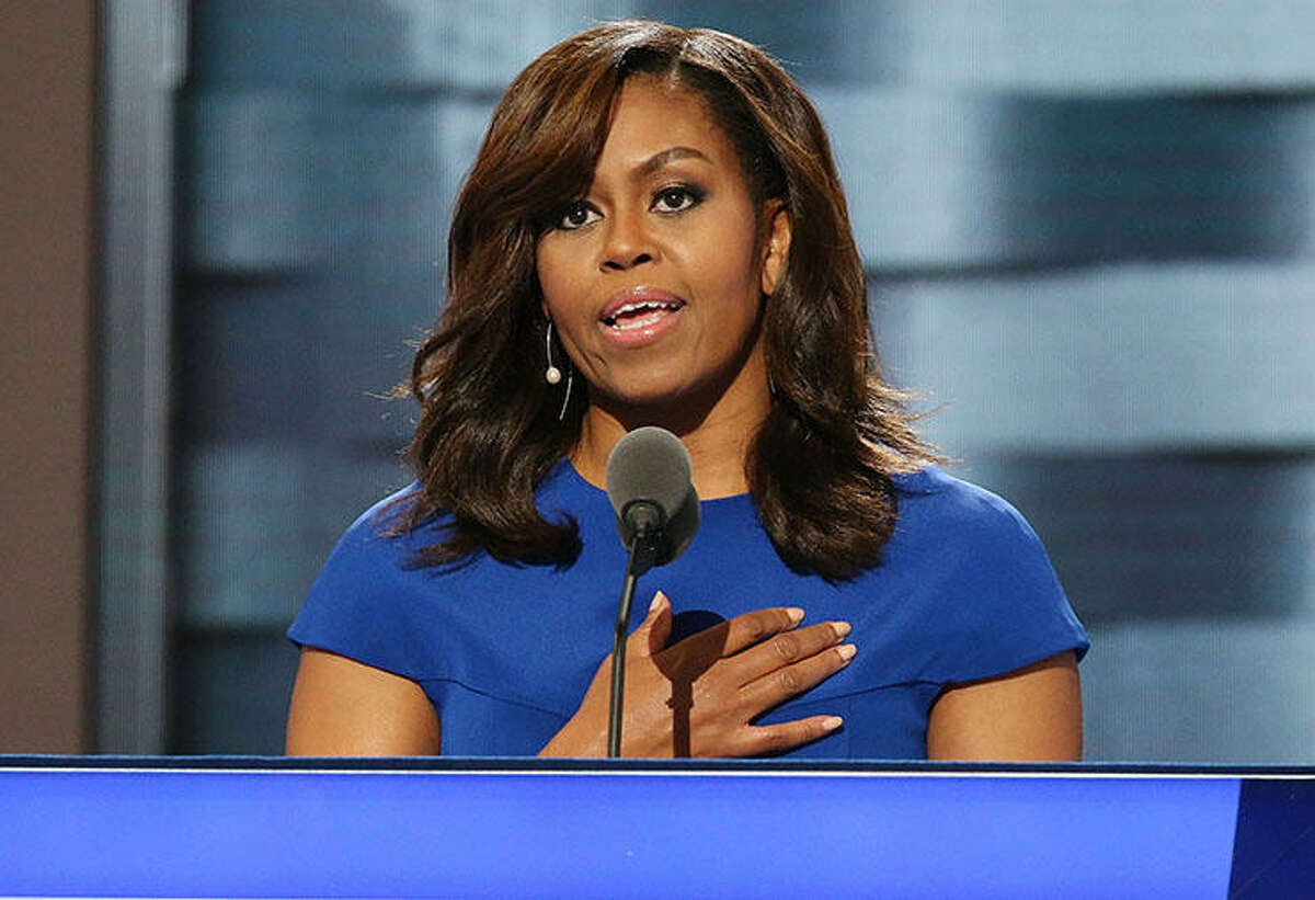 Michelle Obama was named America's most admired woman in Gallup's annual survey, displacing Hillary Clinton who had held the top spot for 17 years. | Photo Credits: Paul Morigi/WireImage