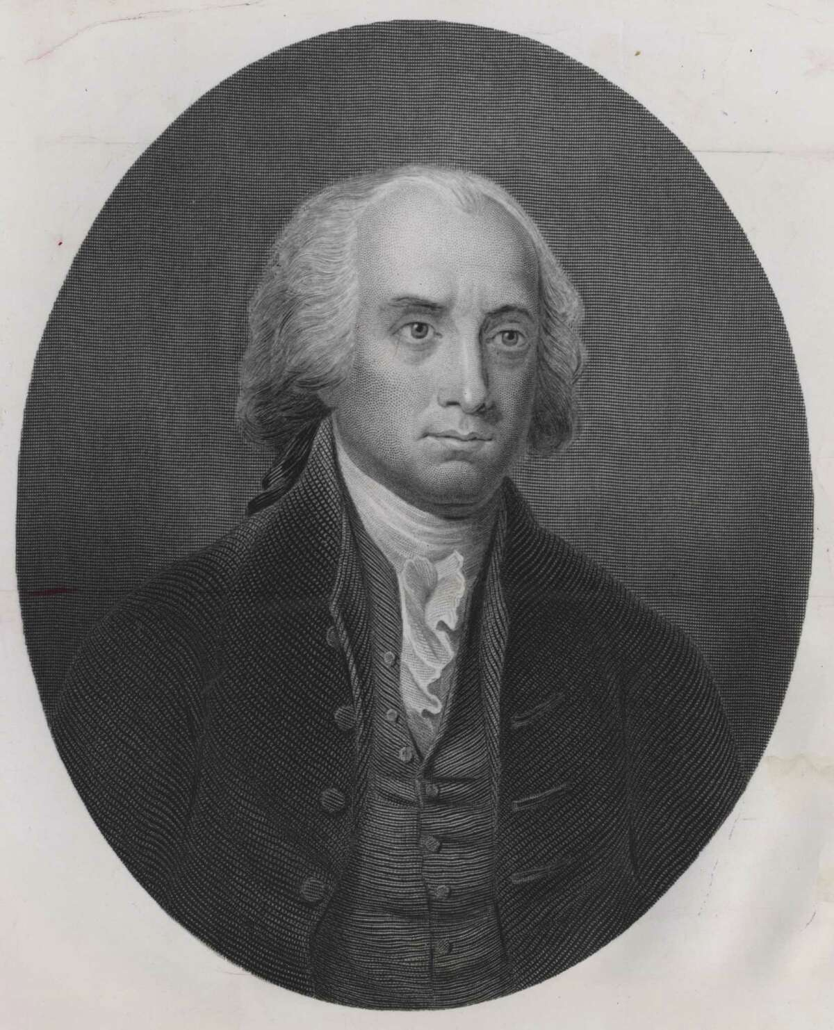This etching shows President James Madison during his years in the White House.