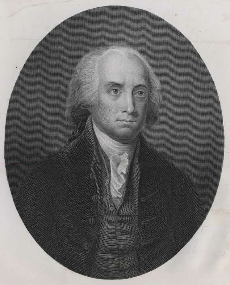 This etching shows President James Madison during his years in the White House. Photo: Bettmann Archive / handout