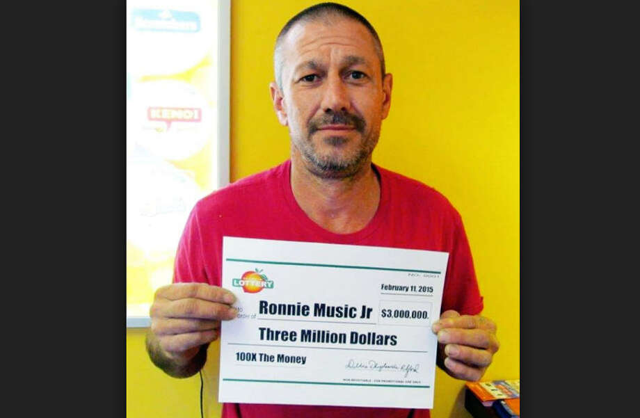 Ronnie Music, Jr., who won $3 million on a lottery scratch-off game, plead guilty to drug and firearm charges.