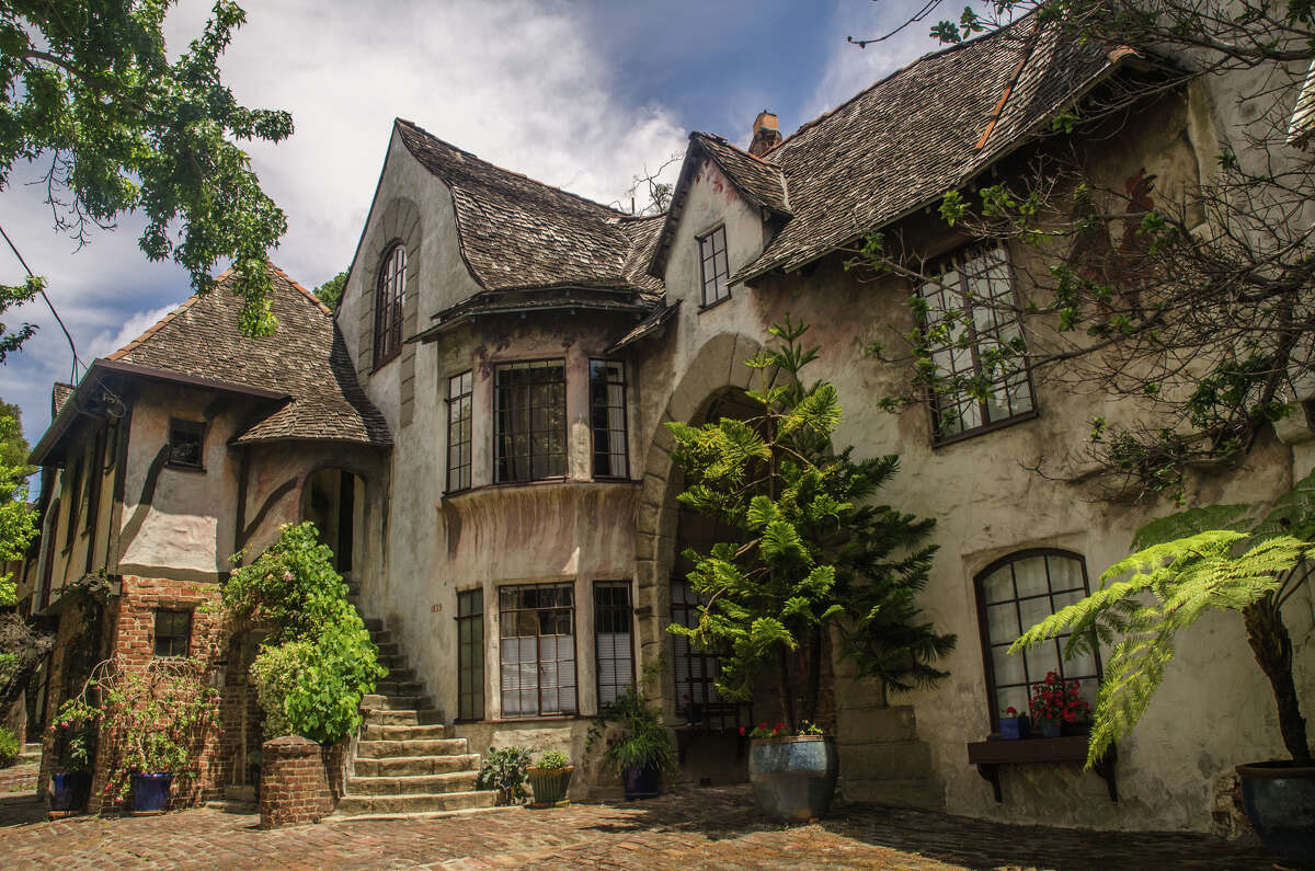 Did you know that a little French village is tucked away on Spruce St. in Berkeley? Normandy Village was built in the in the late 1920s by an architect who was stationed in France during World War I. Inspired by the picturesque countryside, he designed 43 unique units, all with almost cartoonishly over-the-top French touches.