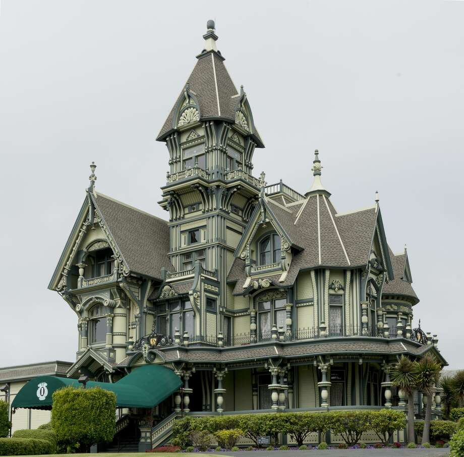 The iconic Carson Mansion, now a private club and home, is featured in many coffee table books and is one of the must-see photo ops in Humboldt County. A glimpse at the interior is available online. Photo: Buyenlarge/Getty Images