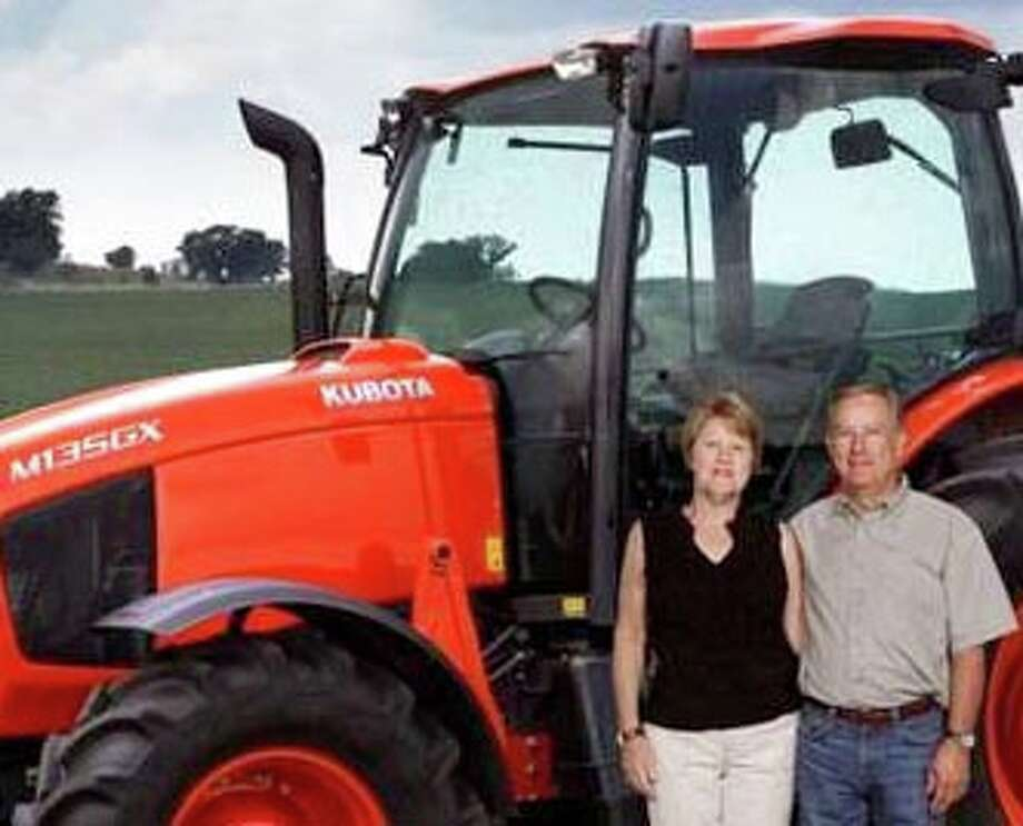 Kay and Ronnie Shannon, representing James Bros. Implement Company, Inc., attended Kubota Tractor Corporation's 2011 National Dealer Meeting in San Antonio. They joined more than 1,000 Kubota dealers for a look at Kubota's products and participate in field demonstrations and training.