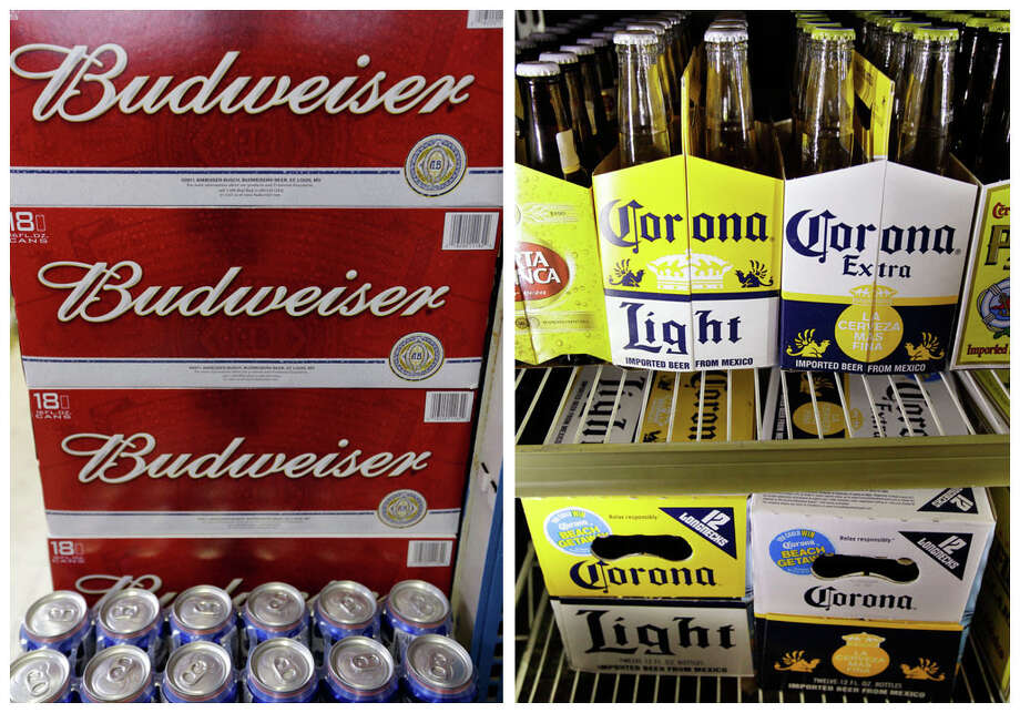 Brewer Anheuser-Busch InBev has increased its cash offer for SABMiller to 45 pounds ($58.98) per share after pressure from investors who had seen the value of the bid drop as the pound declined following Britain's vote to leave the European Union. Photo: Associated Press Photo Illustration / Copyright 2016 The Associated Press. All rights reserved. This material may not be published, broadcast, rewritten or redistribu